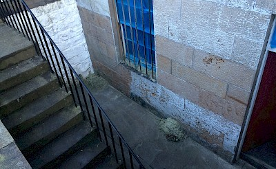 Limewash paint removal edinburgh basement