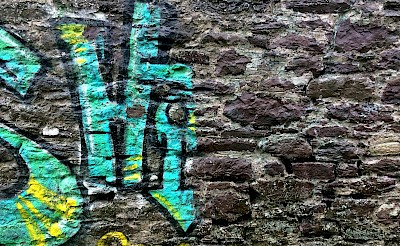 Graffiti Removal from church wall