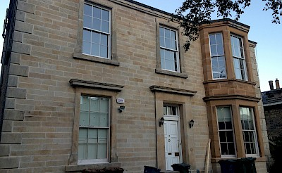 Edinburgh building cleaned of carbon staning using torc system